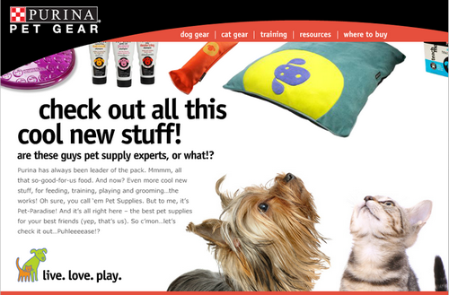 Purina Pet Gear